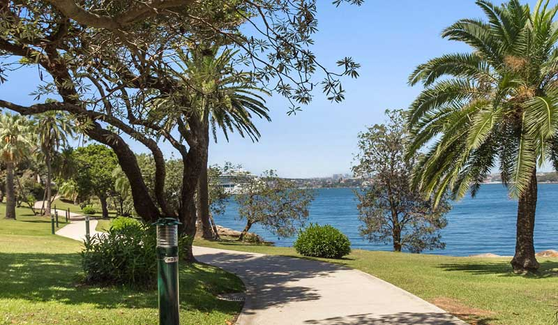 Cremorne Point walkway