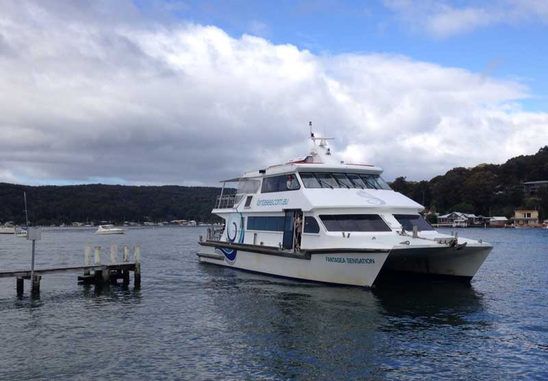 Ferries On The Central Coast