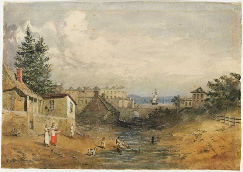 The History Of Sydney Early Cononial Sydney
